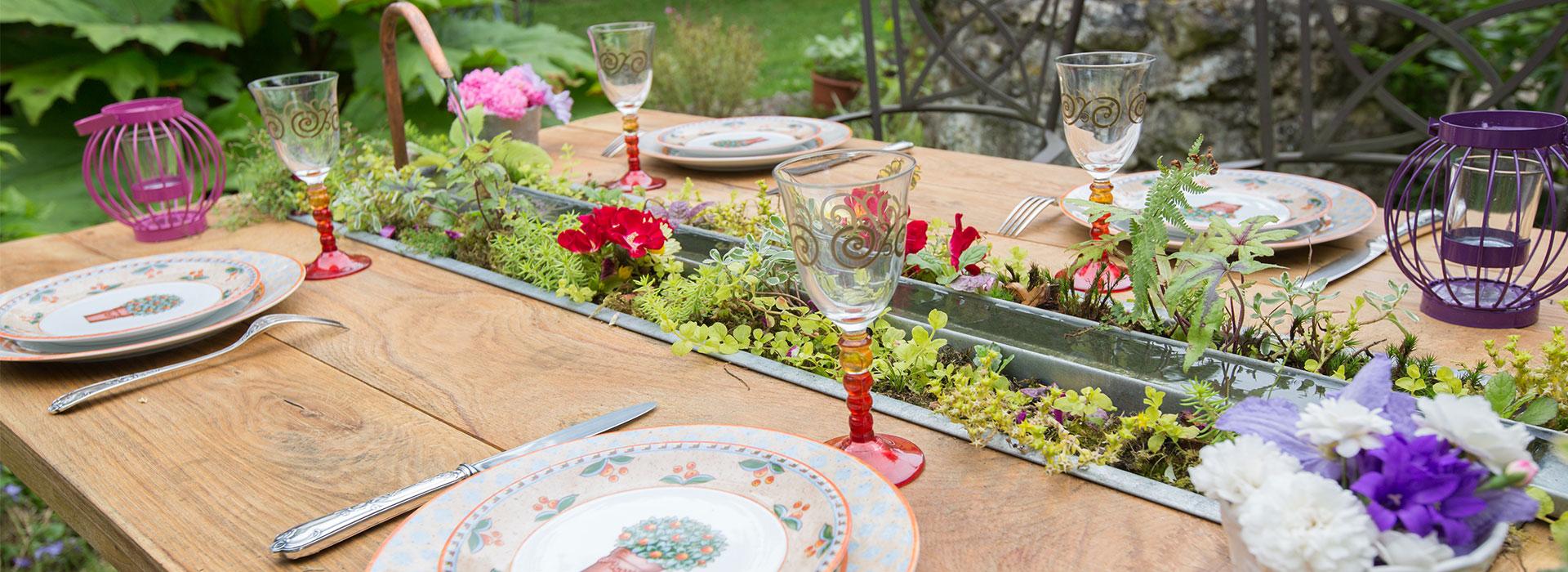 table esprit vert